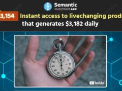 Semantic Investment App: opinioni e recensioni